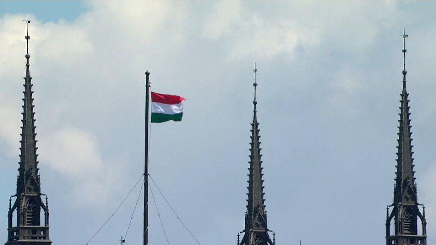 Competição aérea em Budapeste