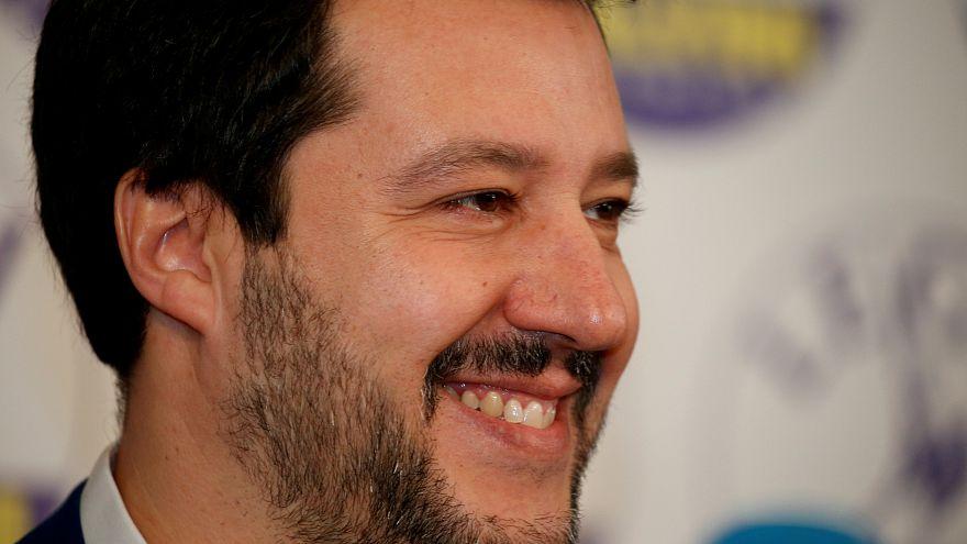 Salvini anuncia campo de identificação de migrantes na Líbia