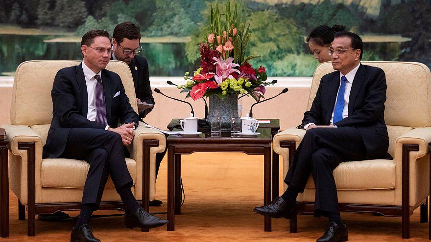 Welthandel: China und EU setzen Zeichen