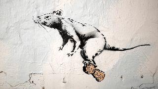 Banksy de volta a Paris