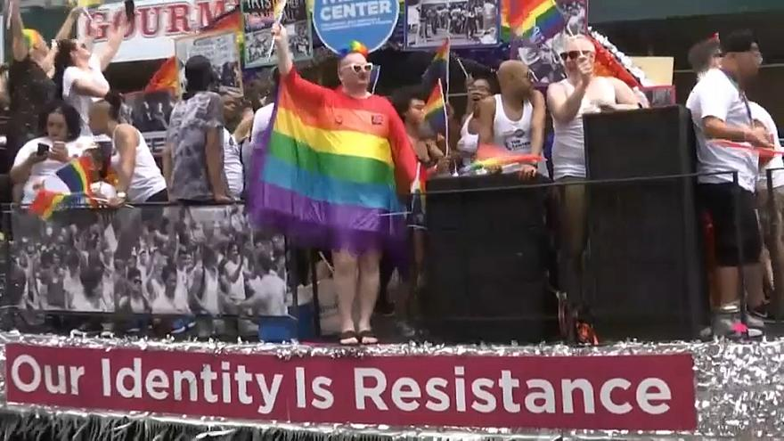 Gay Pride Revelers: US Has 'a Long Way to Go'