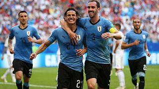 Futball-vb: Uruguay nyerte az A csoportot