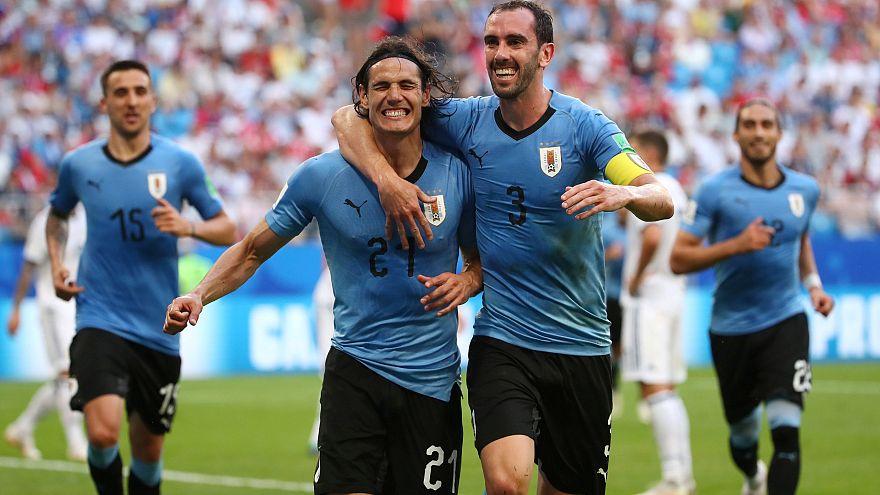 WM: Triumph für Uruguay in Gruppe A