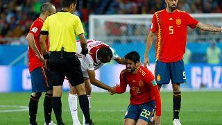 España empata con Marruecos (2-2) y pasa primera de grupo