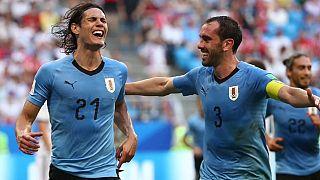 Uruguay arrolla a Rusia y Egipto pierde contra Arabia Saudí en el Mundial