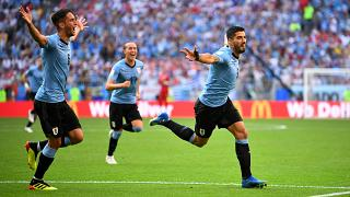 Uruguai empurra Rússia para o segundo lugar
