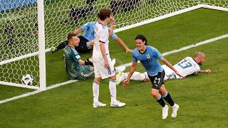 L'Uruguay au-dessus de la Russie