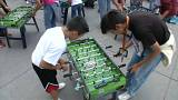 Mexico City breaks Guinness record for simultaneous foosball-playing