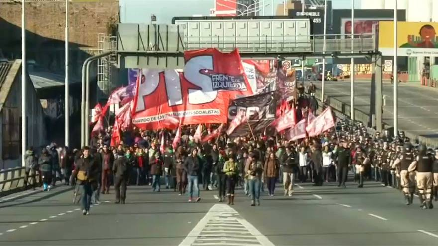 Argentina, de nuevo en huelga general