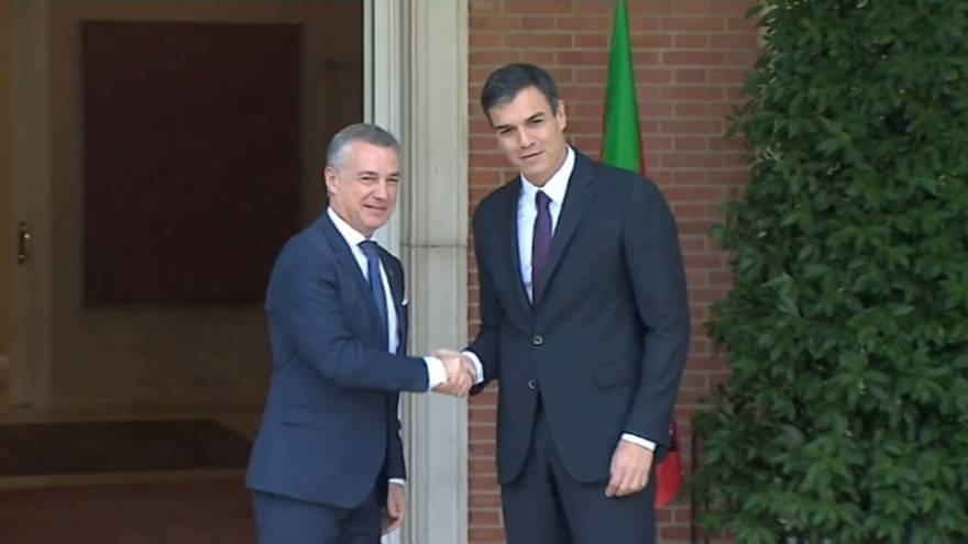Pedro Sánchez e Íñigo Urkullu abren una nueva vía de diálogo