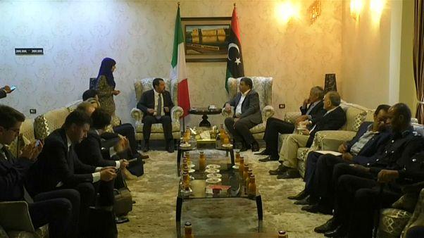 Salvini besucht Tripolis