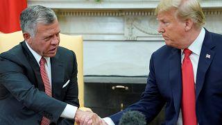 ترامب يلتقي العاهل الأردني ويعلن إحراز تقدم كبير في الشرق الأوسط