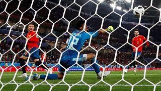 اسبانيا تخطف تعادلا متأخرا أمام المغرب وتتصدر المجموعة الثانية