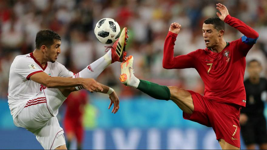 تساوی ایران و پرتغال در بازی مرگ و سرنوشت