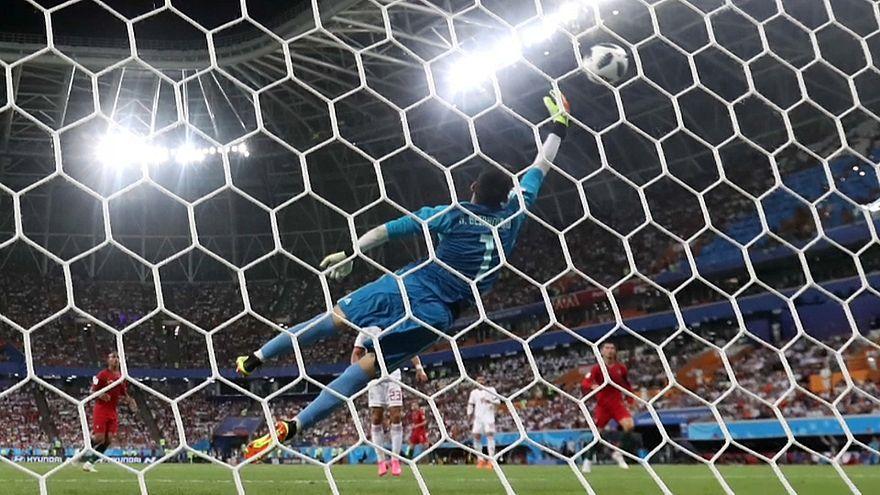 WM: Spanien und Portugal im Achtelfinale