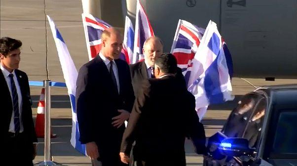 الأمير وليام يصل إسرائيل في أول زيارة ملكية بريطانية رسمية