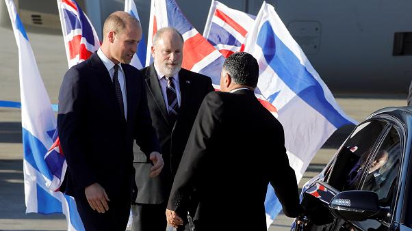 Le Prince William en visite en Israël