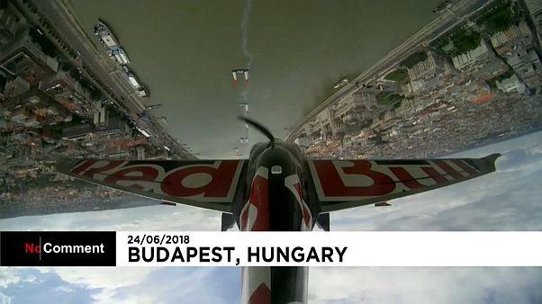 رابع مراحل بطولة ريد بول للطيران تمتع متابعيها في بودابست