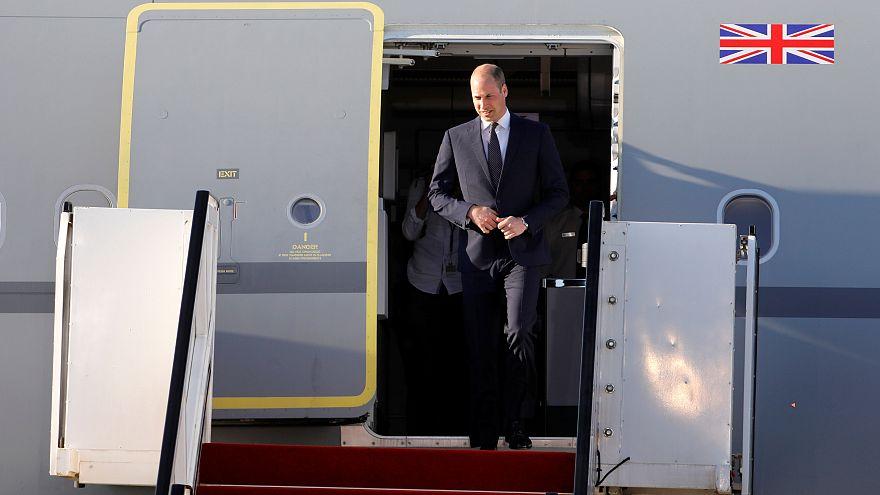 Histórica visita a Israel y Palestina del príncipe Guillermo