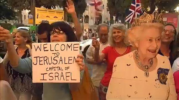 Θερμή υποδοχή του πρίγκιπα Γουίλιαμ στην Ιερουσαλήμ