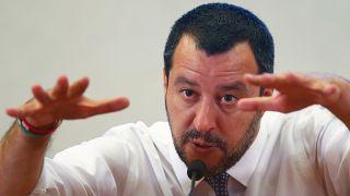 Salvini quer que a UE financie campo de refugiados na Líbia