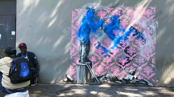 Hallo Paris, Banksy war - offenbar - hier