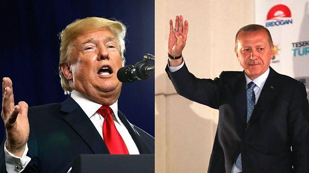 ABD Başkanı Trump'tan Erdoğan'a tebrik telefonu