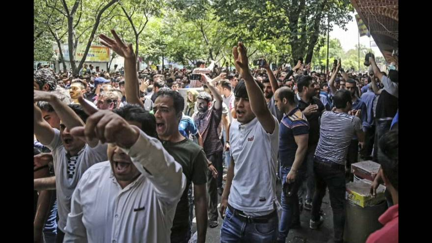 Wut auf iranische Regierung