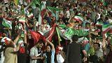 شادمانی مردم ایران از نتیجه مسابقه فوتبال ایران و پرتغال