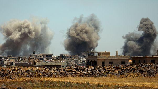 المرصد السوري: سقوط صاروخين إسرائيليين قرب مطار دمشق