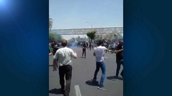 Manifestations anti-gouvernementales à Téhéran