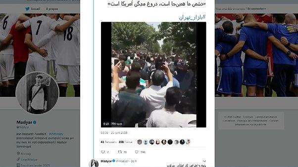 Iran in rivolta contro il ritorno delle sanzioni
