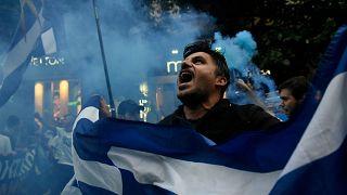 Gewaltsamer Protest gegen Namenskompromiss in Griechenland
