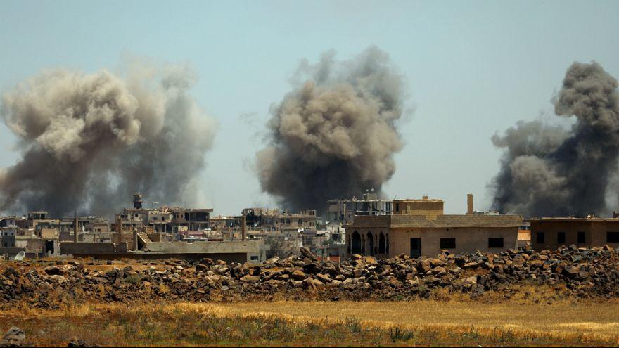 سوریه؛ پیشروی ارتش در درعا و حمله اسرائیل به یک انبار سلاح