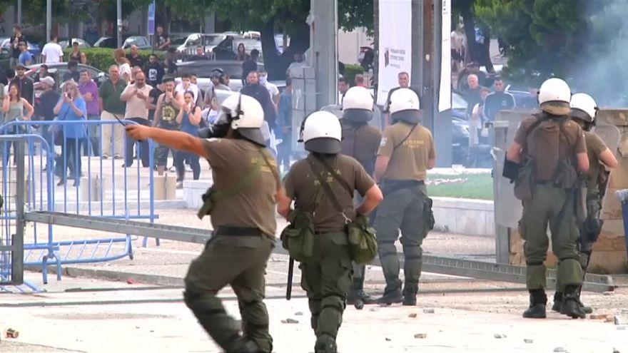 Makedon Cumhurbaşkanı İvanov ülkenin adını değiştiren anlaşmayı onaylamadı