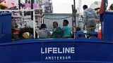 El barco Lifeline desembarcará  en Malta, según el primer ministro italiano