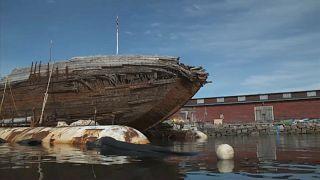 Amundsens Expeditionsschiff: Rückkehr nach 86 Jahren