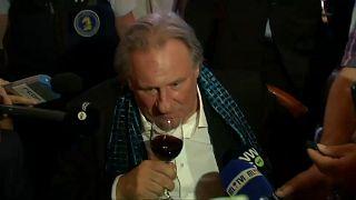 Депардье поссорился с журналистами