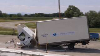 Watch: This destructive barrier was created to stop lorry attacks