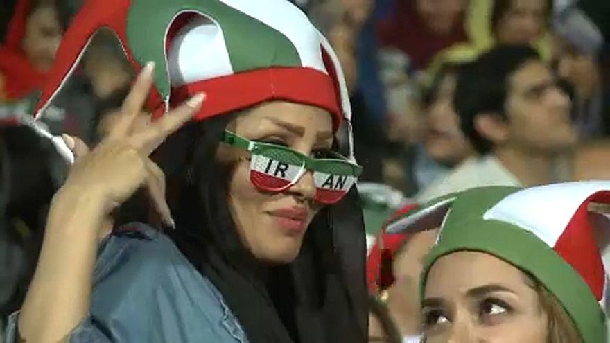 Ιράν: Γυναίκες στο γήπεδο
