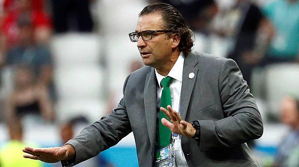 خوان أنطونيو بيتزي مدرب منتخب السعودية- المصدر : رويترز