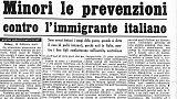 Quando gli Italiani erano migranti nei centri di detenzione, i padri separati dai figli