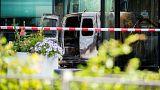 حمله با کامیونت به ساختمان یک روزنامه در هلند