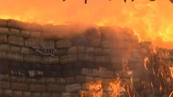 Myanmar'da 180 milyon dolar değerinde uyuşturucu madde yakıldı