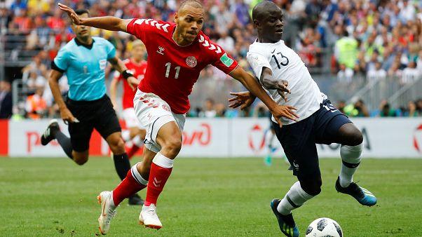 Coupe du monde : les Bleus muets face au Danemark