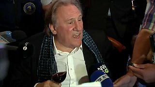 Gérard Depardieu s'emporte contre les journalistes