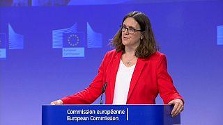 """Malmström vs Trump: continua la """"battaglia dei dazi"""""""