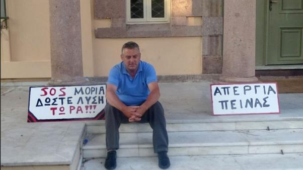 Τρίτη μέρα σε απεργία πείνας ο πρόεδρος δημοτικής κοινότητας Μόριας