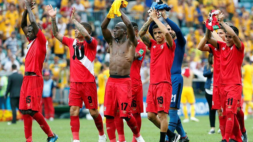 Peru Dünya Kupası'na üç puanla veda etti