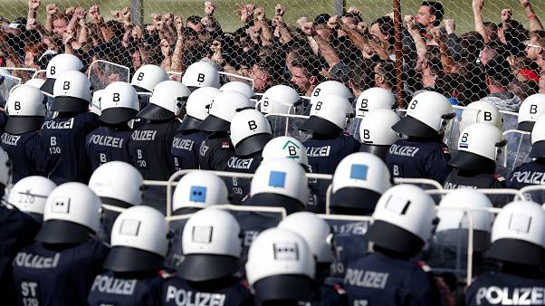 Österreich übt Grenzschutz